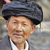 Mariage Miao Noir - Le turban est en place - 黑苗族
