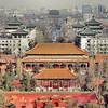 Beijing - Panorama depuis la Colline au Charbon - 北京。景山公园