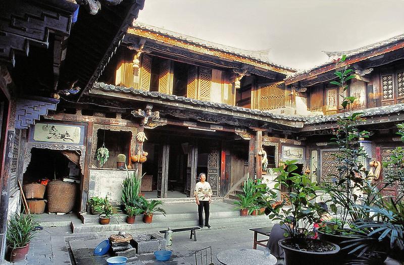 Notre hôtesse à Tuanshan - 团山