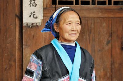 Xinpu - Ethnie Miao Petite Fleur - 小花苗族