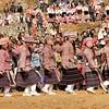Longga - Festival Miao Longues Cornes - Danse Miao Peigne - 梳苗族