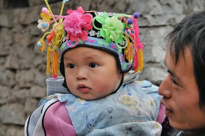 Guangzhong - Ethnie Miao Petite Fleur - 小花苗族