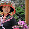 Kunming - Village des Minorités - Ethnie Miao - 昆明。 民族村