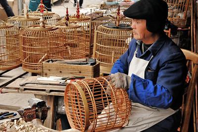 Guiyang - Artisan au marché - 贵阳