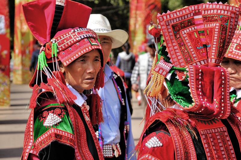 Kunming - Village des Minorités - Ethnie Yi - 昆明。 民族村