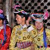 Soirée de danses Mosuo - 泸沽湖。摩梭族