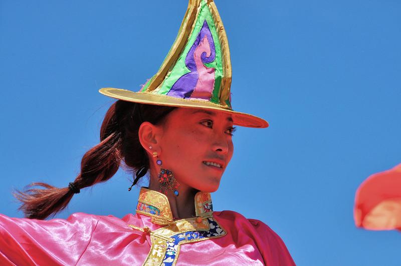 Hongyuan - Mariage tibétain - Danseuse - 红原