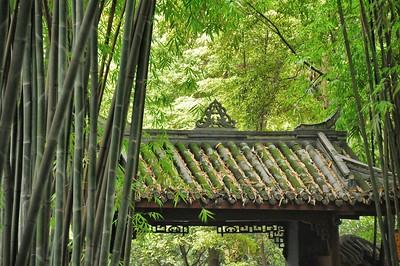 Chengdu - Cottage du poète Du Fu - 成都 - 杜甫草堂