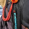 Détails de coiffure tibétaine - 藏族