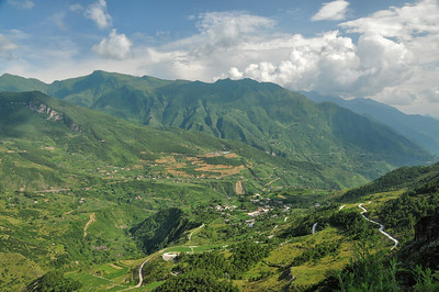 Panorama du col Yarla Namtse