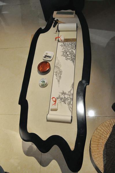 Kunming - Musée de la ville de Kunming - Estampe et mobilier contemporain - 昆明。昆明市博物馆
