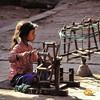 Bhaktapur - Petite fileuse - भक्तपुर