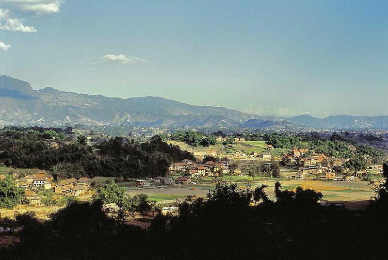 Campagne au nord de Katmandou