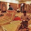 Avanos - Manufacture de tapis - La calculette et les tapis
