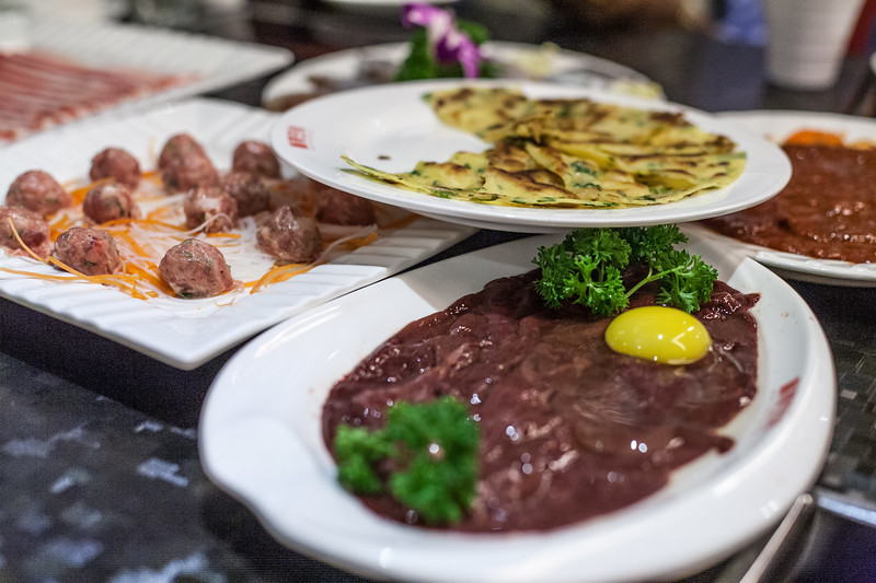 very hot and spicy meals in a Chengdu Restaurant, that's what Chengdu is known for in China