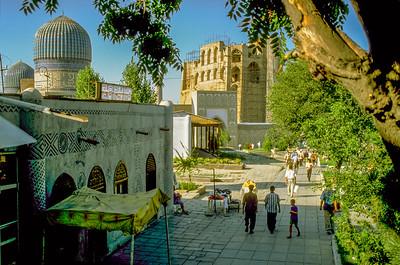 Samarkand City life