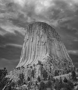 Devil's Tower Storm