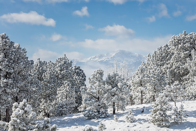 Pike's Peak Winter Glory