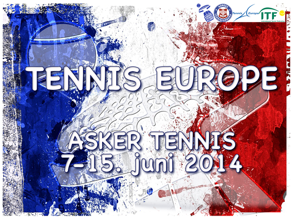 TENNIS EUROPE WALLPAPER PLAKAT
