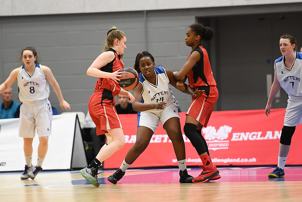Basketball England U16 Girls Premier Semi Final - Manchester Mystics v Sheffield Hatters
