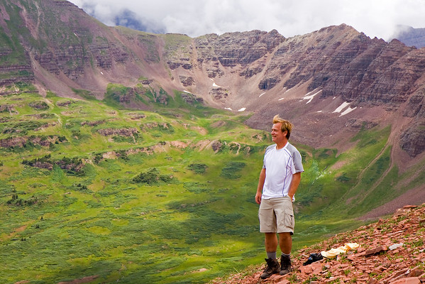 Backpacking the Aspen 4 Pass Loop