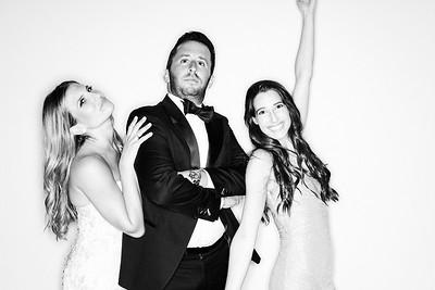 Black & Whites - Melanie and Ryan get Married at the Ritz Carlton Bachelor Gulch-Vail Photo Booth Rental-SocialLightPhoto com-16