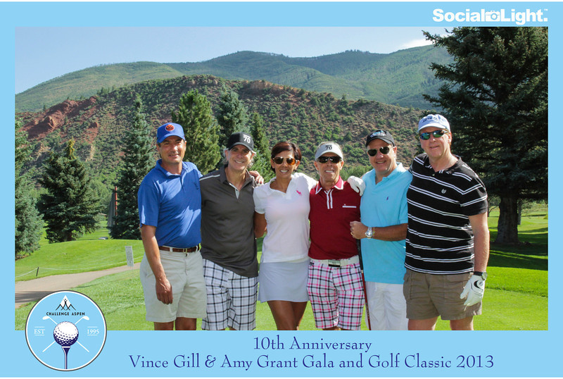 Challenge Aspen 10th Anniversary Vince Gill & Amy Grant Golf Classic 2013-003
