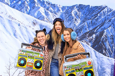 The W Aspen Presents- The Abbey Aprés Pop Up at Aspen Gay Ski Week 2020 Day 2-Aspen Photo Booth Rental-SocialLightPhoto com-16