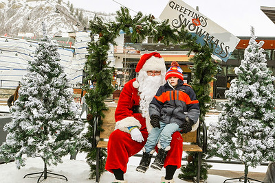 The Town Of Snowmass Village Presents- Santa Claus-Aspen Photo Booth Rental-SocialLightPhoto com