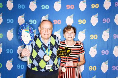 Harold's 90th Birthday at the JCC in Aspen-Aspen Photo Booth Rental-SocialLightPhoto com-23