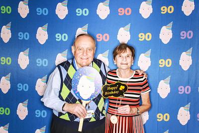 Harold's 90th Birthday at the JCC in Aspen-Aspen Photo Booth Rental-SocialLightPhoto com-22