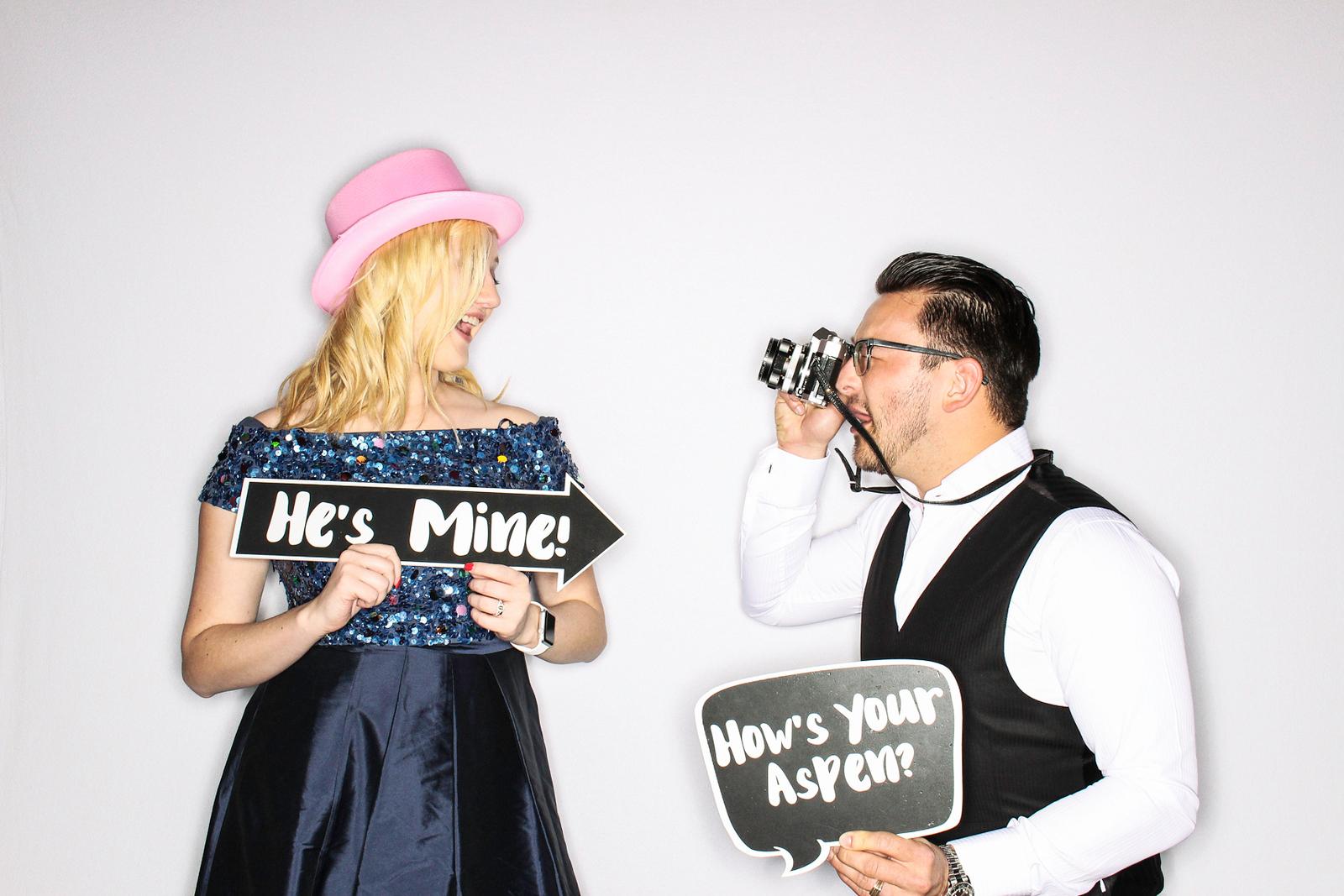 Lindsay & Raul Get Married at The Aspen Mountain Club-Aspen & Vail Photo Booth Rental-SocialLightPhoto com-46