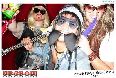 Negroni at The Aspen Food & Wine Classic - 2013 jpg-562