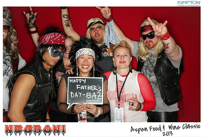 NEGRONI Live At The Aspen Food & Wine Fest 2013-001