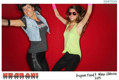 NEGRONI Live At The Aspen Food & Wine Fest 2013-011