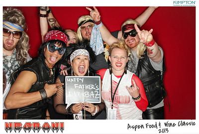 NEGRONI Live At The Aspen Food & Wine Fest 2013-002