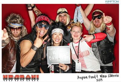 NEGRONI Live At The Aspen Food & Wine Fest 2013-009