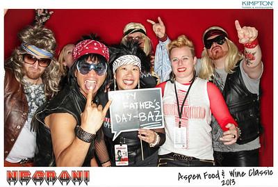 NEGRONI Live At The Aspen Food & Wine Fest 2013-007
