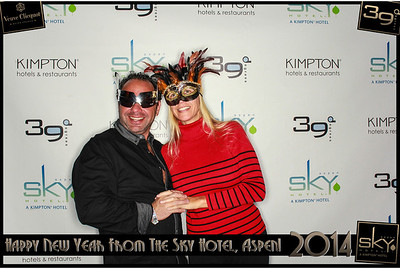 New Years Eve 2014 at The Sky Hotel Aspen with SocialLight Photo Booths-016