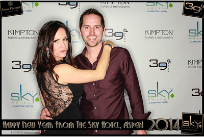 New Years Eve 2014 at The Sky Hotel Aspen with SocialLight Photo Booths-008
