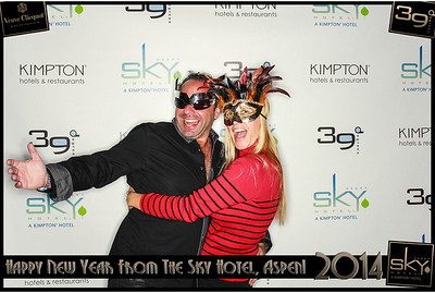 New Years Eve 2014 at The Sky Hotel Aspen with SocialLight Photo Booths-017