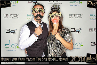 New Years Eve 2014 at The Sky Hotel Aspen with SocialLight Photo Booths-005