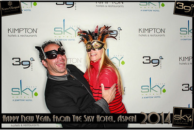 New Years Eve 2014 at The Sky Hotel Aspen with SocialLight Photo Booths-018