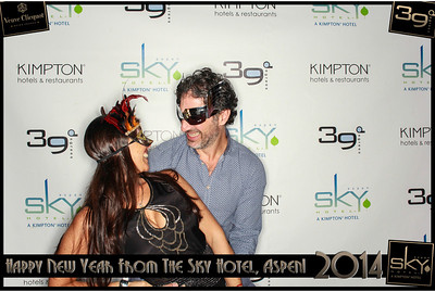 New Years Eve 2014 at The Sky Hotel Aspen with SocialLight Photo Booths-012