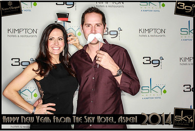 New Years Eve 2014 at The Sky Hotel Aspen with SocialLight Photo Booths-007