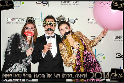 New Years Eve 2014 at The Sky Hotel Aspen with SocialLight Photo Booths-019