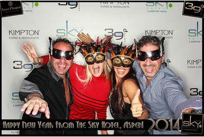 New Years Eve 2014 at The Sky Hotel Aspen with SocialLight Photo Booths-014