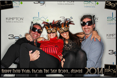 New Years Eve 2014 at The Sky Hotel Aspen with SocialLight Photo Booths-013