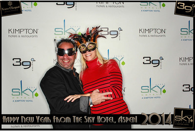 New Years Eve 2014 at The Sky Hotel Aspen with SocialLight Photo Booths-015