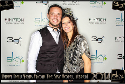 New Years Eve 2014 at The Sky Hotel Aspen with SocialLight Photo Booths-006
